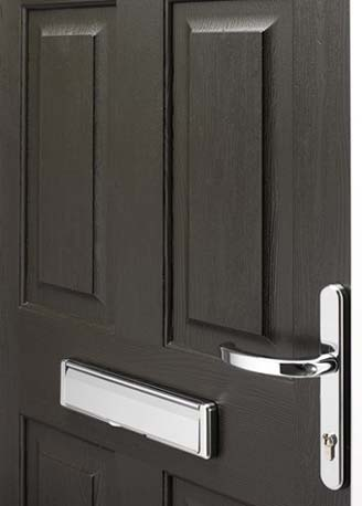 New Black door